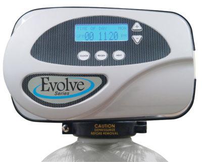 evolve water softener closeup